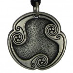 Dagaz - Rune of New Beginnings Pewter Talisman at LABEShops, Home Decor, Fashion and Jewelry