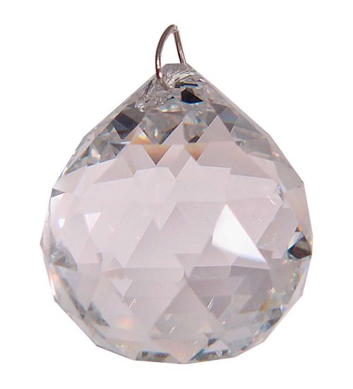 Crystal Prism Faceted Sphere at LABEShops, Home Decor, Fashion and Jewelry