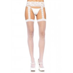 Lace Garter Belt Suspender Sheer Stockings  - Pack of 3 LABEShops Home Decor, Fashion and Jewelry