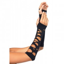 Black Shredded Arm Warmers LABEShops Home Decor, Fashion and Jewelry