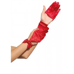 Satin Cut Out Gloves LABEShops Home Decor, Fashion and Jewelry