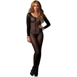 Long Sleeve Sheer Bodystocking LABEShops Home Decor, Fashion and Jewelry