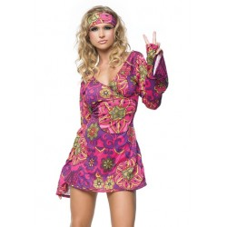 Hippie Girl Adult Womens Costume