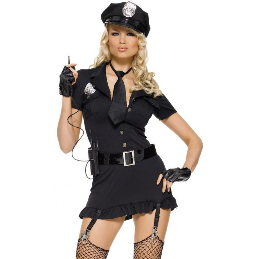 Dirty Cop Adult Womens Costume at LABEShops Home Decor Fashion and Jewelry  sc 1 st  LABEShops.com & Dirty Cop Adult Womens Costume | Halloween Costume
