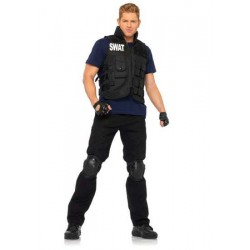 SWAT Commander Mens Costume LABEShops Home Decor, Fashion and Jewelry