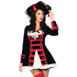 Charming Pirate Captain Adult Womens Costume LABEShops Home Decor, Fashion and Jewelry