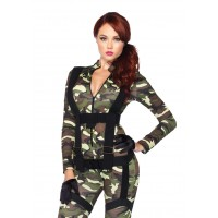 Pretty Paratrooper Womens Military Costume