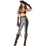 Black Beauty Pirate Costume for Women at LABEShops, Home Decor, Fashion and Jewelry