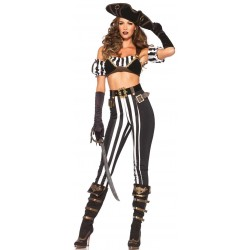 Black Beauty Pirate Costume for Women LABEShops Home Decor, Fashion and Jewelry