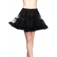 Plus Size Layered Tulle Petticoat