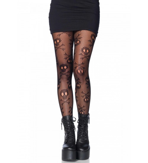Pirate Skull and Crossbones Pantyhose at LABEShops, Home Decor, Fashion and Jewelry