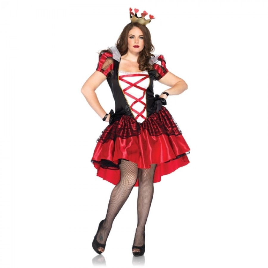 Royal Red Queen Plus Size Womens Costume at LABEShops Home Decor Fashion and Jewelry  sc 1 st  LABEShops - Majestic Dragonfly Home Decor & Plus Size Royal Red Queen Womens Halloween Costume