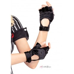 Fingerless Black Motorcycle Gloves LABEShops Home Decor, Fashion and Jewelry