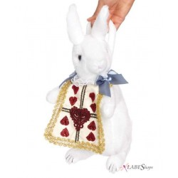 Wonderland Rabbit Plush Purse