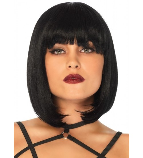 Short Natural Bob Wig at LABEShops, Home Decor, Fashion and Jewelry
