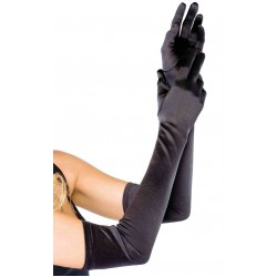 Satin Extra Long Black Opera Gloves LABEShops Home Decor, Fashion and Jewelry