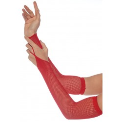 Red Fishnet Arm Warmers LABEShops Home Decor, Fashion and Jewelry