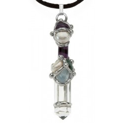 Ask, Believe, Receive Law of Attraction Mini Wand Pendant