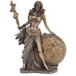Frigga Norse Goddess Bronze Statue by Derek W Frost LABEShops Home Decor, Fashion and Jewelry Direct to You