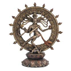 Shiva Nataraja Lord of Dancers Hindu Bronze 9 Inch Statue LABEShops Home Decor, Fashion and Jewelry Direct to You