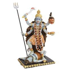 Kali Hindu Goddess of Destruction Statue LABEShops Home Decor, Fashion and Jewelry Direct to You