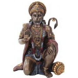 Hanuman Hindu God Bronze Finish Statue LABEShops Home Decor, Fashion and Jewelry Direct to You