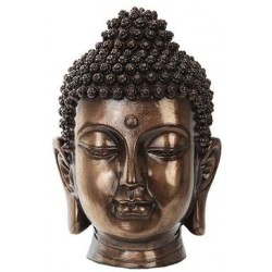 Buddha Head Small Bronze Bust LABEShops Home Decor, Fashion and Jewelry