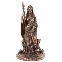 Hecate Greek Goddess of the Crossroads Bronze Resin Statue LABEShops Home Decor, Fashion and Jewelry