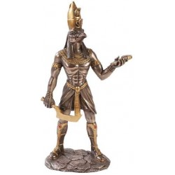 Horus Egyptian God Statue - 12 Inches