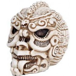 Aztec Bone Resin Design Skull LABEShops Home Decor, Fashion and Jewelry