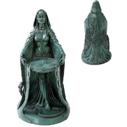 Danu Celtic Goddess Resin Statue
