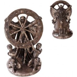 Arianrhod Wheel of the Year Bronze Statue LABEShops Home Decor, Fashion and Jewelry Direct to You