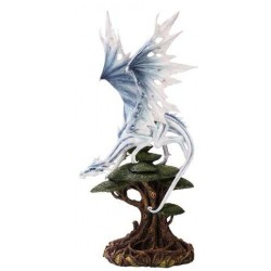 White Winged Dragon Tree Statue LABEShops Home Decor, Fashion and Jewelry
