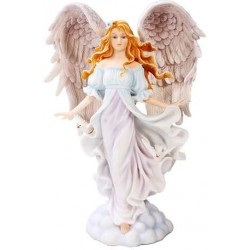 Seraphim Angel of Purity Statue LABEShops Home Decor, Fashion and Jewelry
