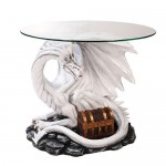 Dragon Treasure Glass Top Accent Table at LABEShops, Home Decor, Fashion and Jewelry