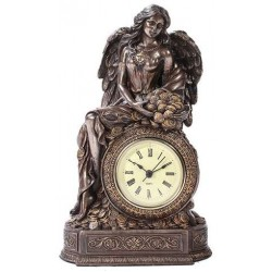Lady Fortuna Mantle Clock LABEShops Home Decor, Fashion and Jewelry