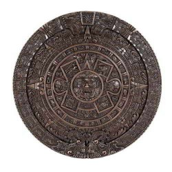 Aztec Solar Calendar Wall Relief Bronze Plaque LABEShops Home Decor, Fashion and Jewelry