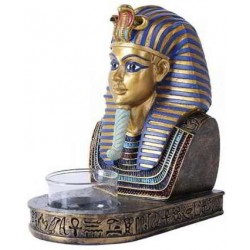 King Tut Egyptian Tea Light Candle Holder LABEShops Home Decor, Fashion and Jewelry