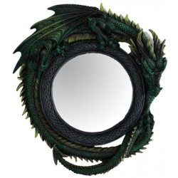 Green Dragon Wall Mirror LABEShops Home Decor, Fashion and Jewelry