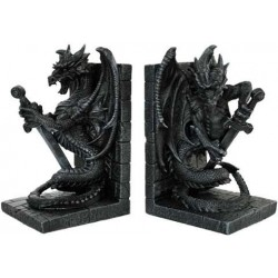 Dragon Heraldic Bookends LABEShops Home Decor, Fashion and Jewelry