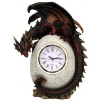Dragon Egg Table Clock