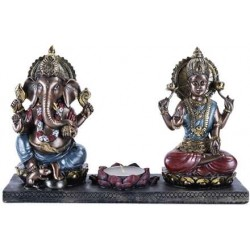 Ganesha and Krishna Candle Holder LABEShops Home Decor, Fashion and Jewelry