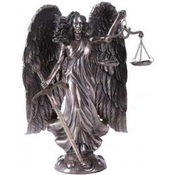 Archangel Raquel Bronze Statue LABEShops Home Decor, Fashion and Jewelry