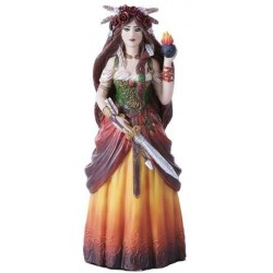 Brigid Celtic Goddess Statue LABEShops Home Decor, Fashion and Jewelry Direct to You