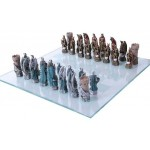 King Arthur Color Chess Set with Glass Board at LABEShops, Home Decor, Fashion and Jewelry