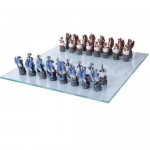 Dragons Chess Set with Glass Board at LABEShops, Home Decor, Fashion and Jewelry