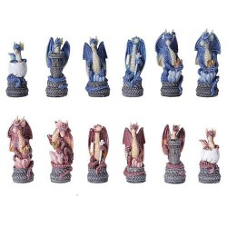 Dragons Chess Set with Glass Board LABEShops Home Decor, Fashion and Jewelry
