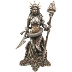 Hecate Greek Goddess of the Underworld Bronze Resin Statue LABEShops Home Decor, Fashion and Jewelry