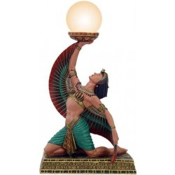 Egyptian Isis Table Lamp LABEShops Home Decor, Fashion and Jewelry