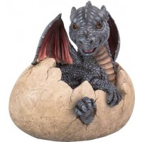 Garden Dragon Egg Statue